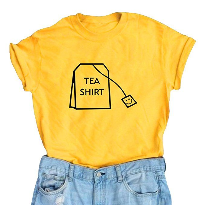 • ⚓️ Bella Montreal ⚓️ • Insta: bella.montreal || Pinterest & WeHeartIt: bella4549 || BLACKOO Women's Cute T Shirt Juniors Tee Graphic Tops Yellow, tumblr fashion, nerd, puns, blog article