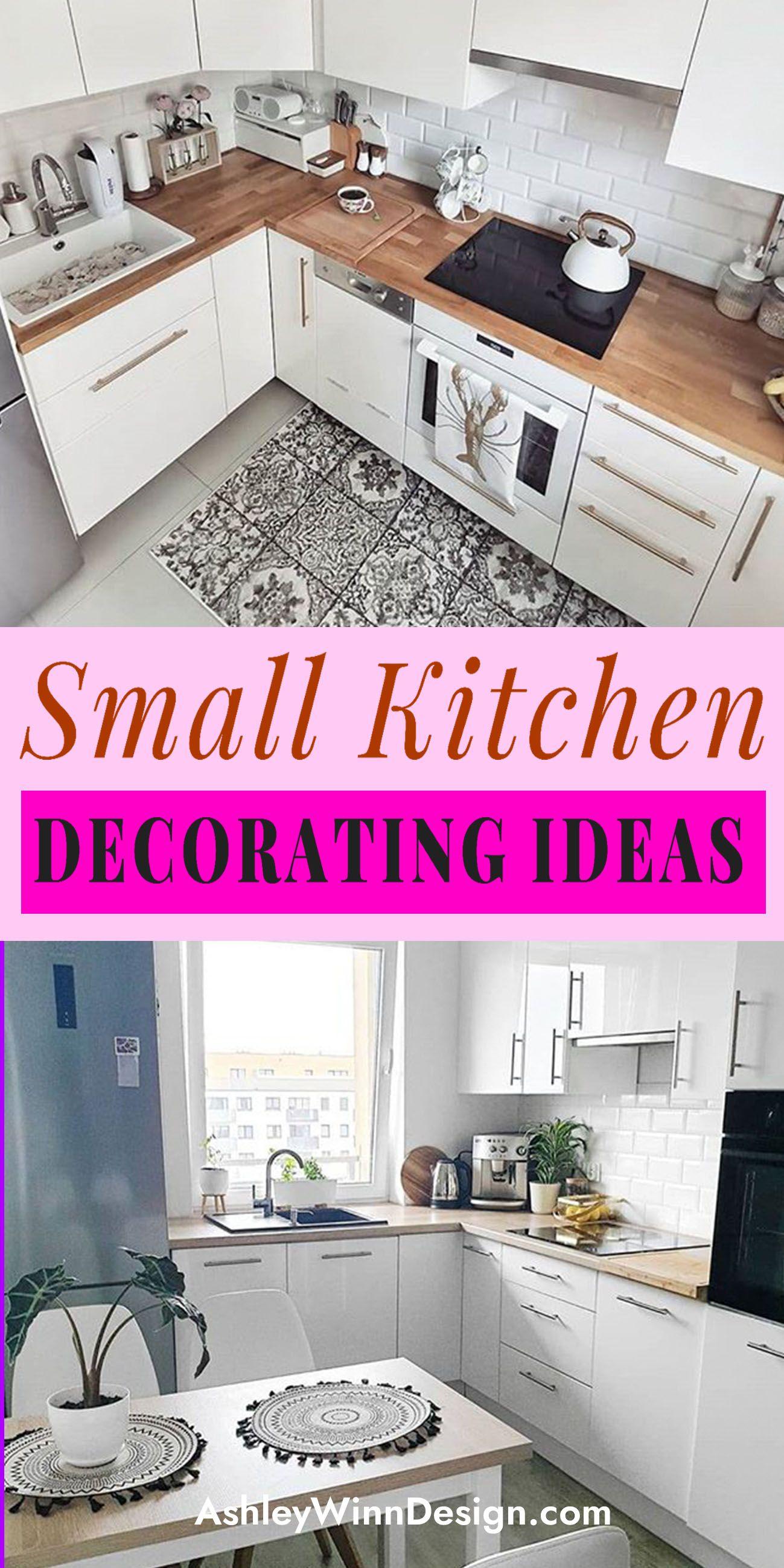 33 Attractive Small Kitchen Design Ideas In 2021 Budget Kitchen Solution Small Kitchen Decor Small Kitchen Solutions Kitchen Design Small