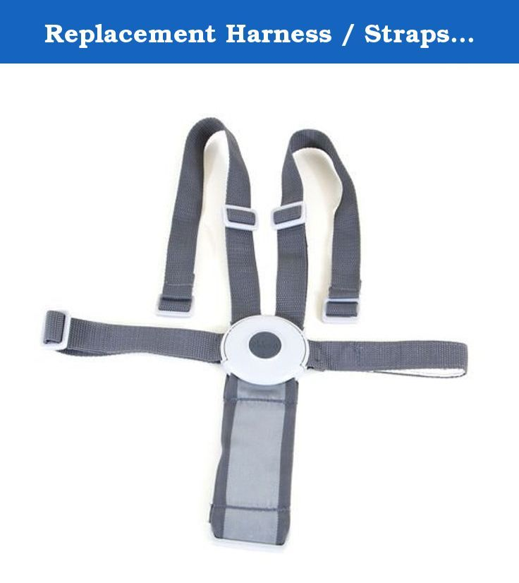 Replacement Harness Straps For Chicco Polly 13 High Chair Gray