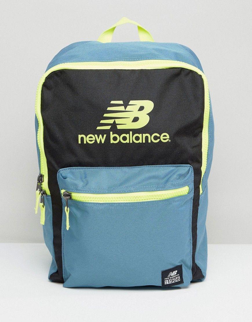 56eca187c90c9 New Balance Pelham Classic Backpack In Grey- Fenix Toulouse Handball