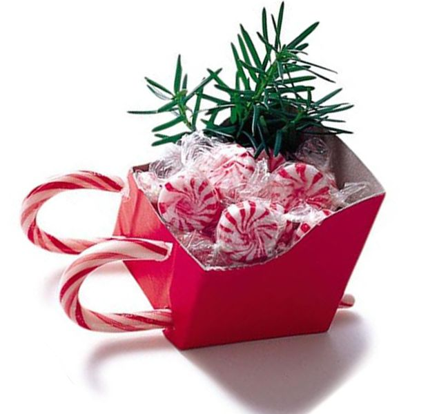 Christmas Craft Ideas With Candy Canes Part - 50: Christmas Craft Ideas, Sled Made With Candy Cane - Dump A Day