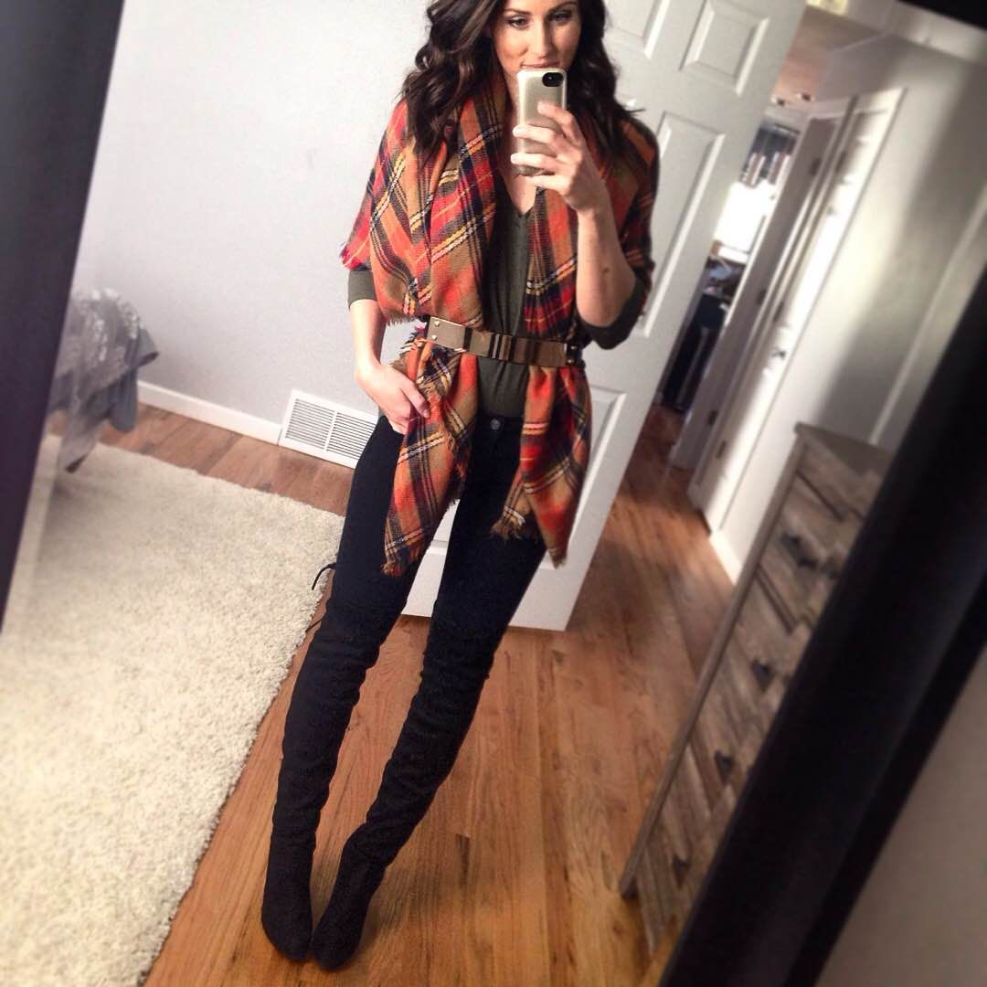 Twenty ways to wear a blanket scarf