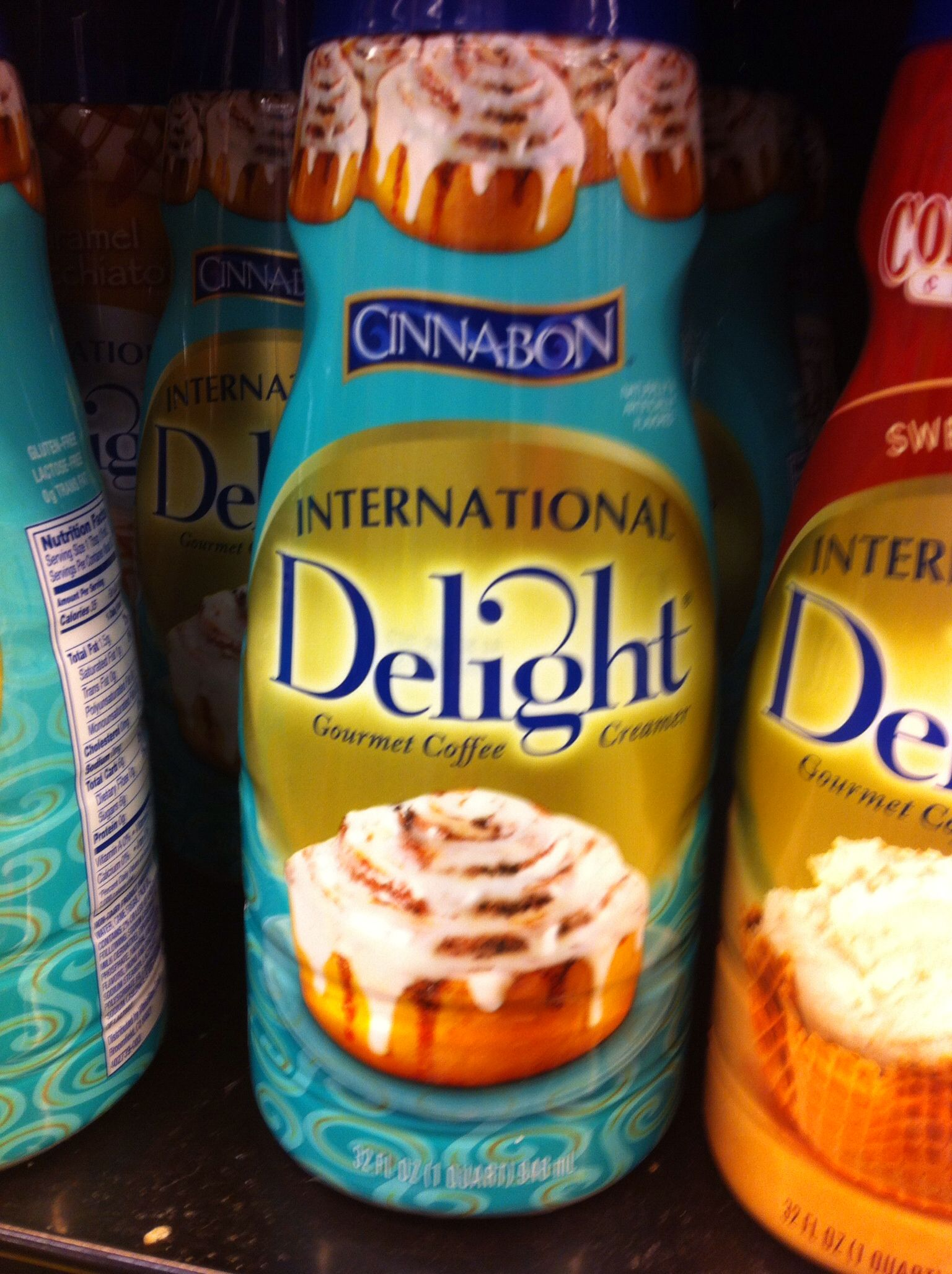 Cinnabon coffee creamer i dont even know what to say