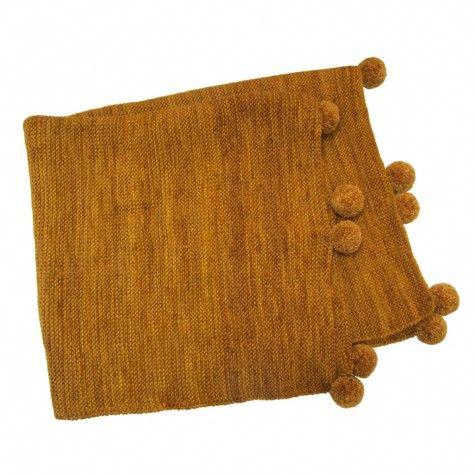 heirloom baby blanket (nutmeg)