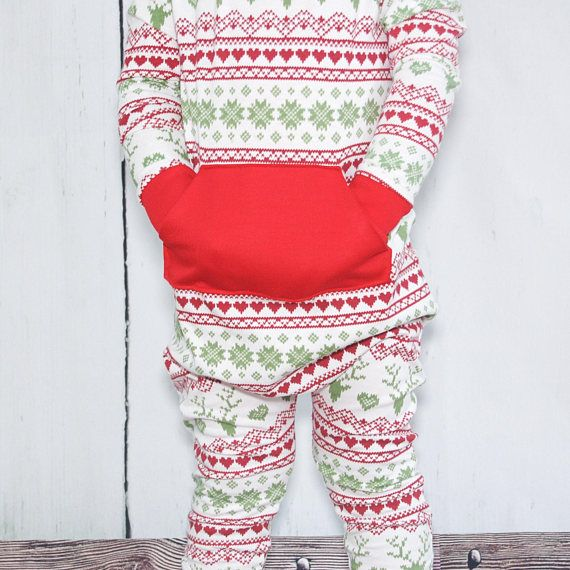 This cute and festive Holiday romper is perfection! With the fair ...