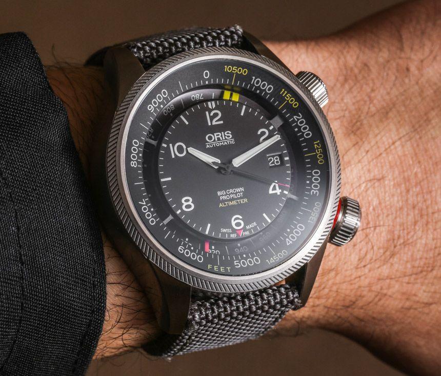 Oris Big Crown Propilot Altimeter Watch Hands On Flying Debut Ablogtowatch Oris Watches Luxury Watches For Men Watches