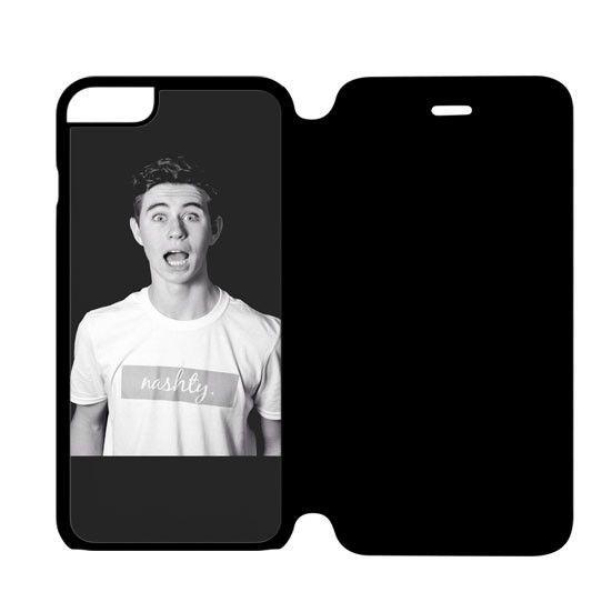 magcon boy Nash Grier- iPhone 6 Flip Case Cover