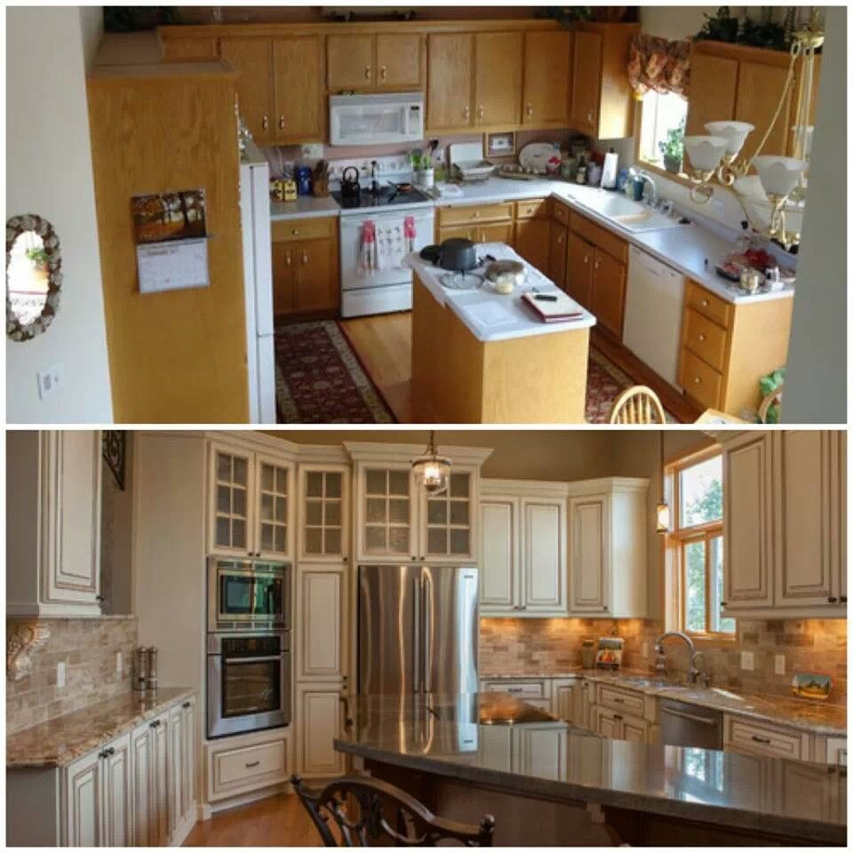 New Kitchen Before And After: Pin By Eddie Smith On Home Design