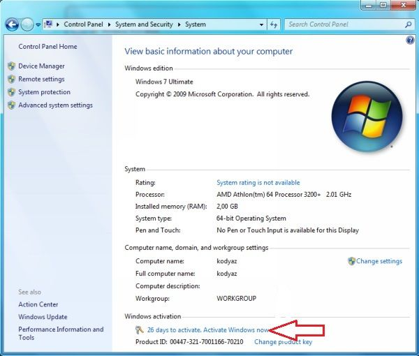 Windows 7 Product Key Free For You Bios Windows 7 Ultimate