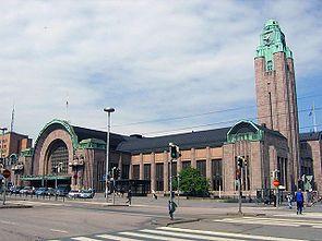 Helsinki Railway Station 1919, Eliel Saarinen