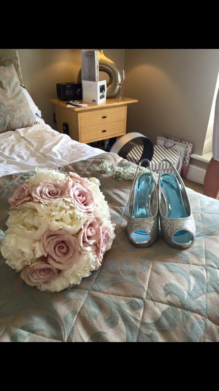 #bouquet #roses #peonies #pink #wedding #bride