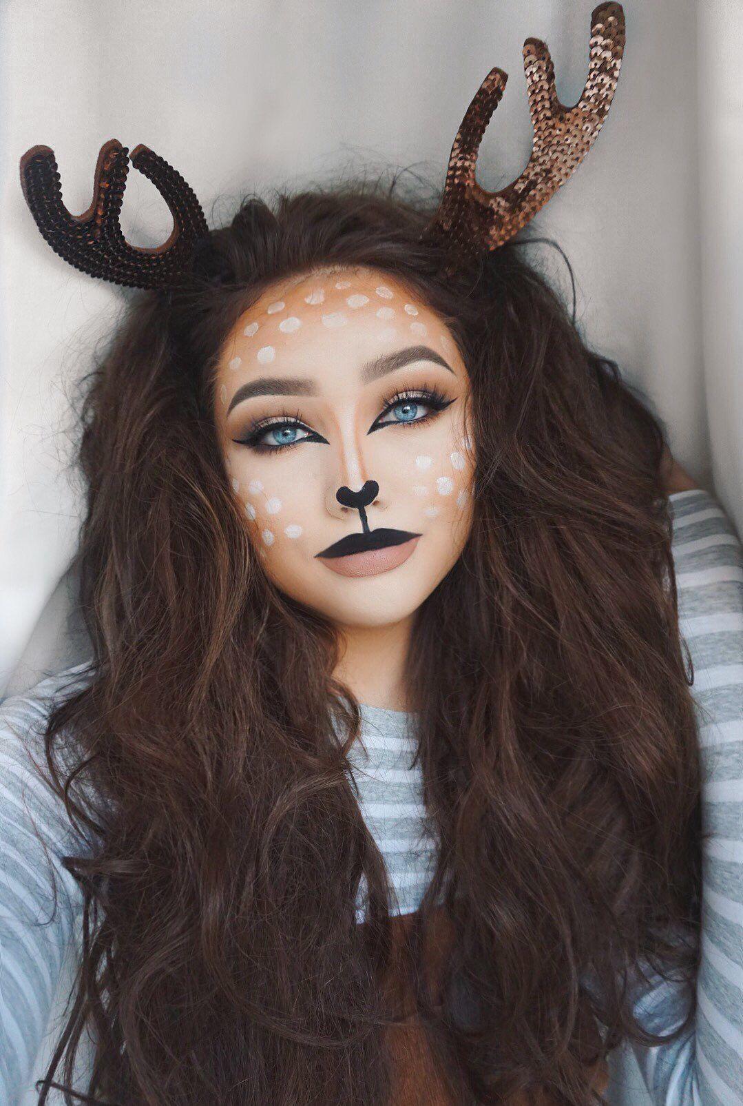 deer snapchat filter (With images) Snapchat deer makeup