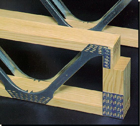 Posi Strut A Way To Save Lumber And Allow For Plumbing And Venting Between Floor Joists Home Construction Steel Trusses Building A House