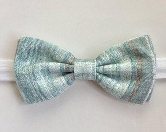 Ocean Blue Bow Tie Mens Gray Beach Wedding