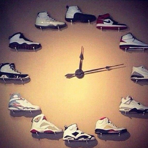 Jordan Sneaker wall clock So neat