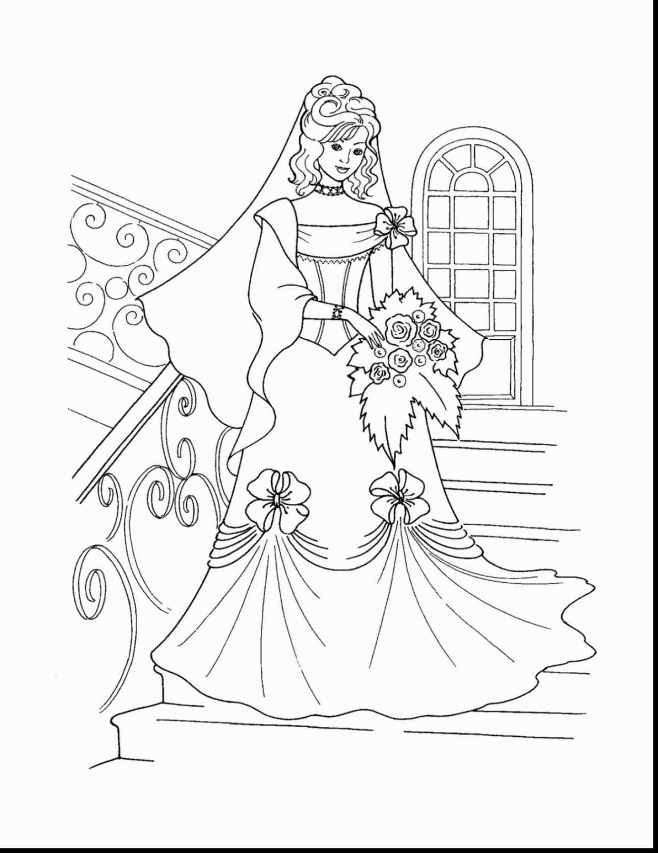 Exclusive Photo Of Barbie Princess Coloring Pages Disney