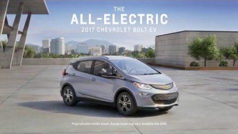 Elektroauto Chevrolet Bolt EV - General Motors - Video.Golem.de