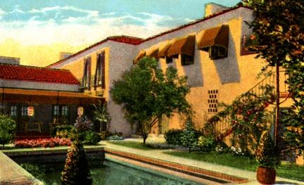 Vintage Hollywood Homes lionel barrymore home, beverly hills, california. celebrity real