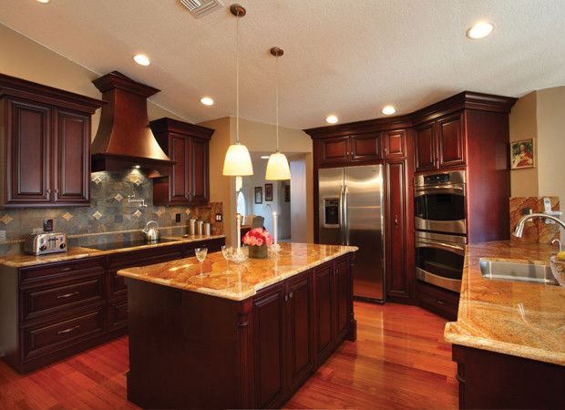 Hardwood floors in kitchen flooring friendly floors for Cherry wood flooring pros and cons