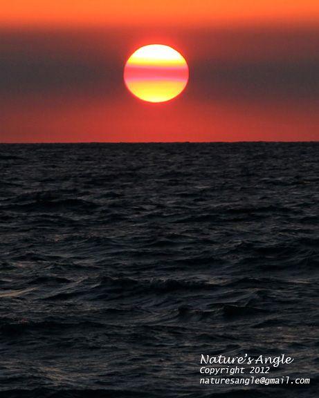 Sunset from Nokomis Beach, Florida