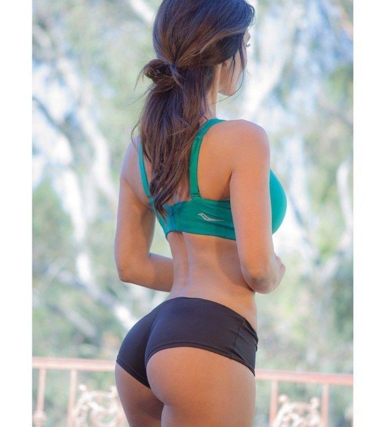 Denise Milani Tumblr Pic 2018 Denise Milani Body Goals Fitness Motivation Butt Yoga Shorts