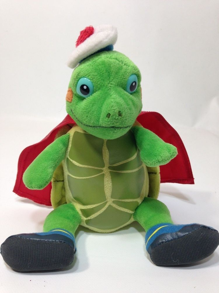 Wonder Pets Tuck Turtle Plush Ty Beanie Babies Stuffed Toy