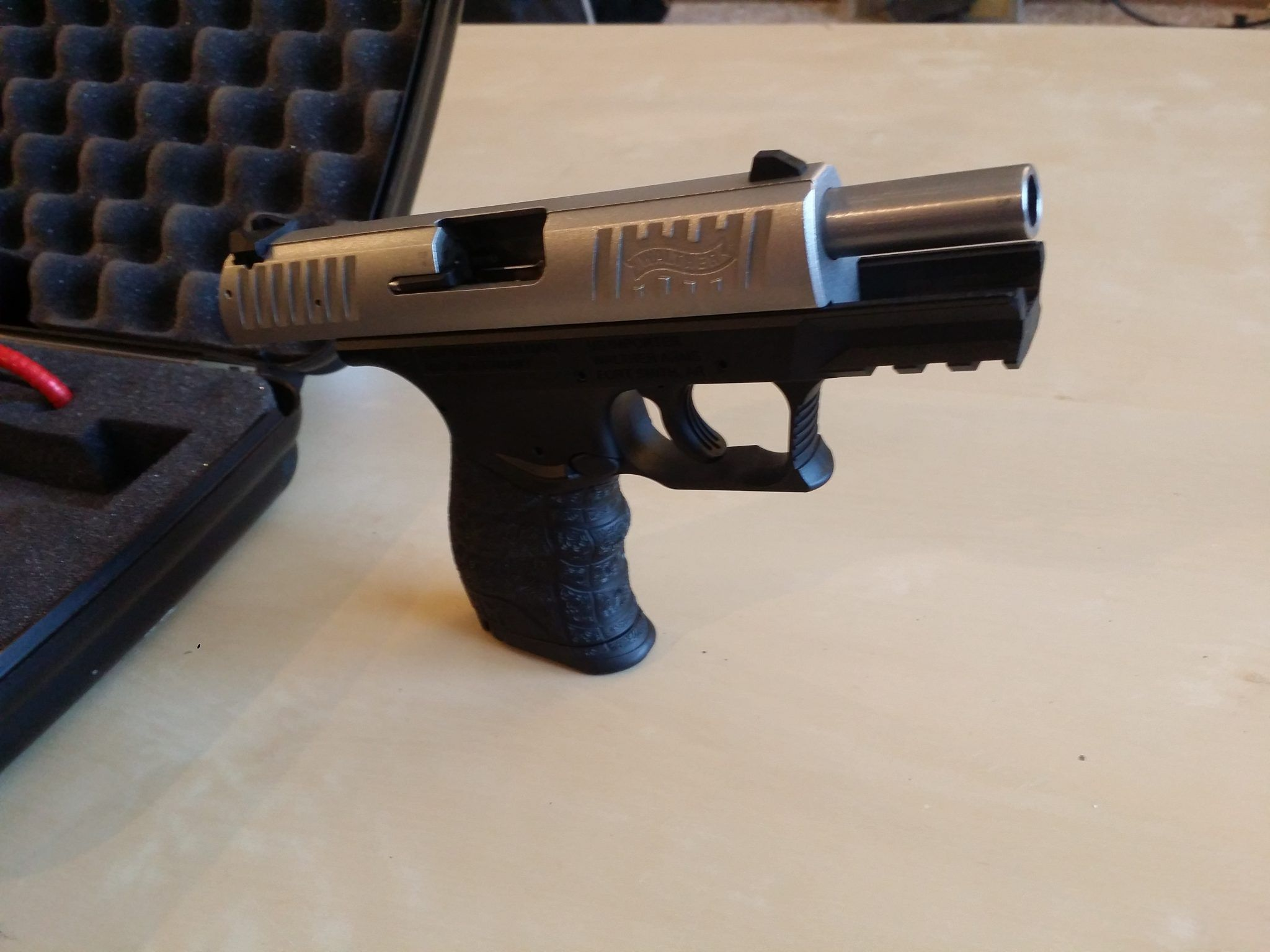 Walther CCP with stainless upper, has only had ~80 rounds