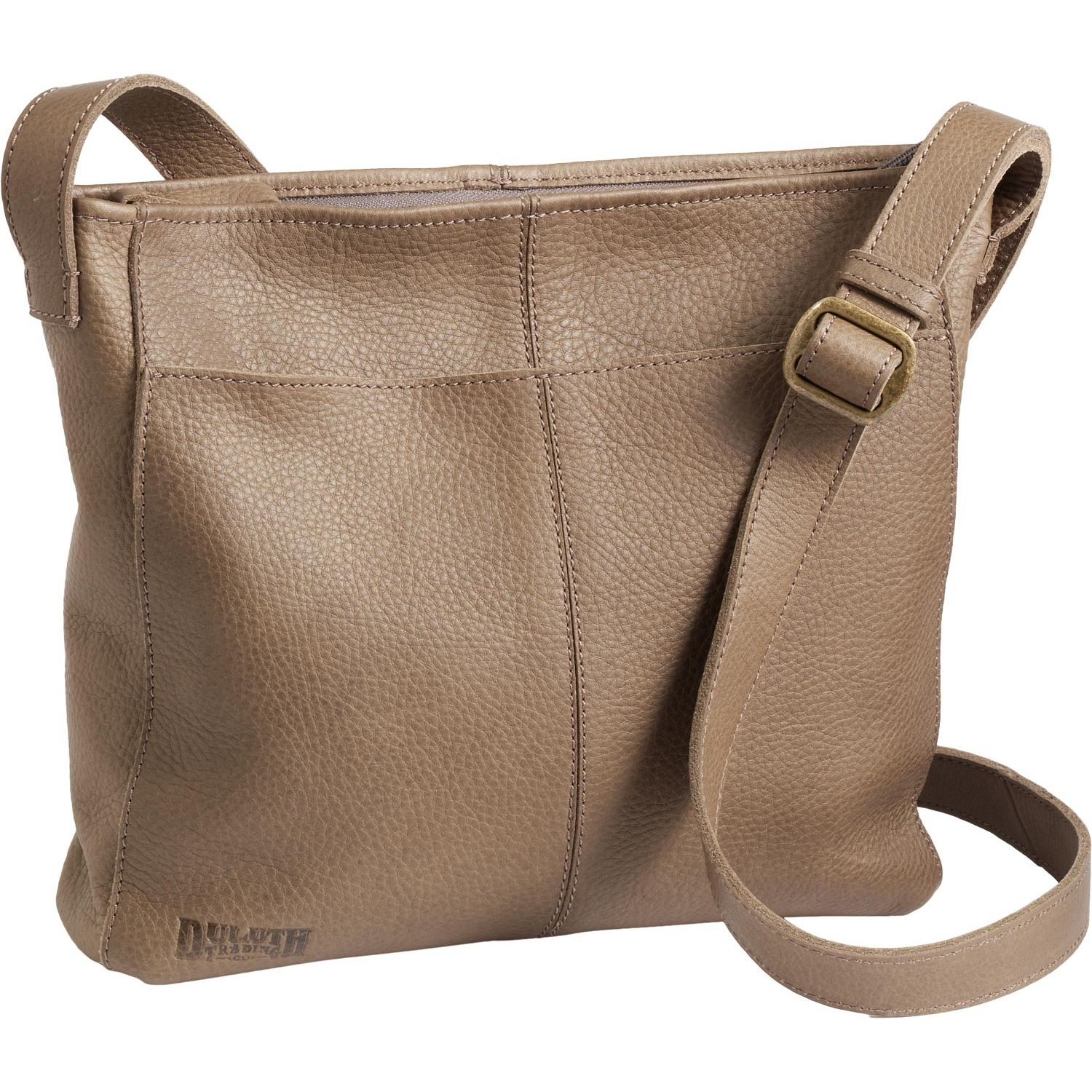 Women's Lifetime Leather Medium Sling Bag - Duluth Trading | Can't ...
