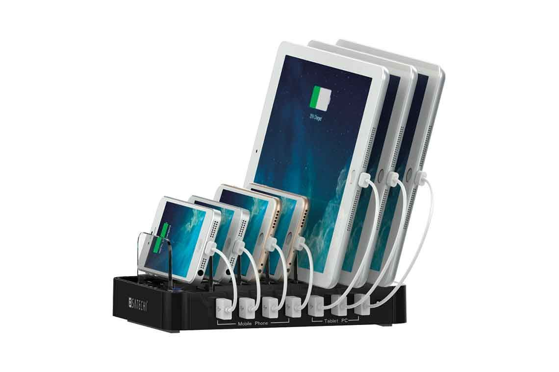7port usb charging station dock by satechi usb charging