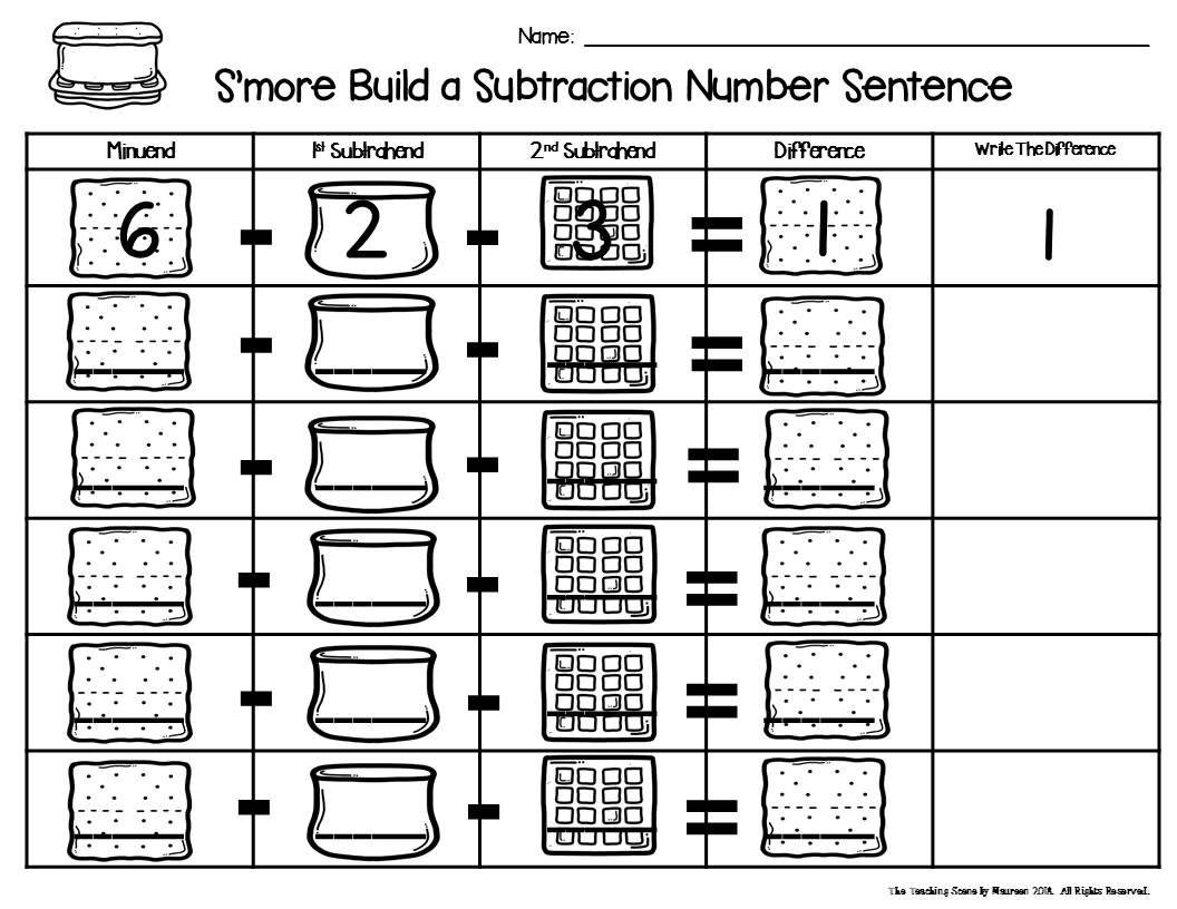 S More Build 3 Addend Addition Amp Subtraction Number