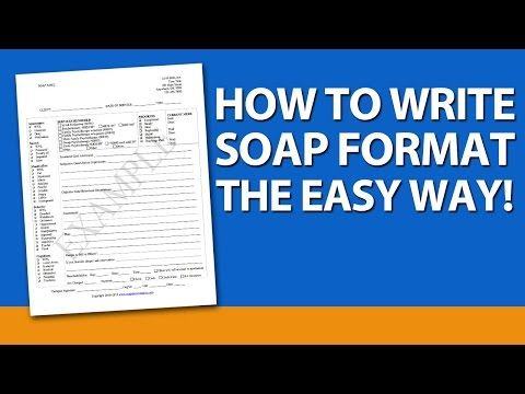 Brief Presentation On Soap Note Format Soap Is A Very Popular