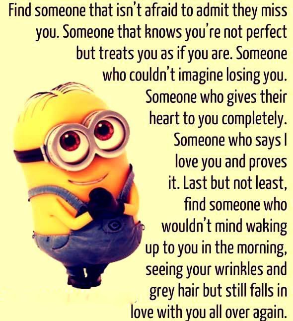 I Miss Him So Much Love Pinterest Minions Quotes Minion