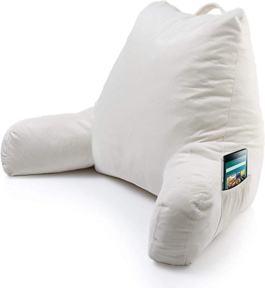 Keen Edge Home Reading Pillow with Arms and