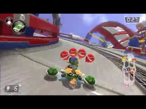 Mario Kart 8 Deluxe: Balloon Battle on Battle Stadium Gameplay - YouTube