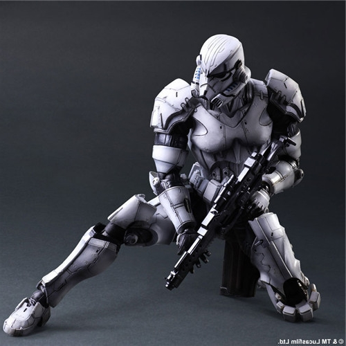 39.19$  Buy here - http://alio9q.worldwells.pw/go.php?t=32581994417 - 27CM Star Wars Stormtrooper storm white soldiers Collectible Action Figures PVC Collection toys for christmas gift