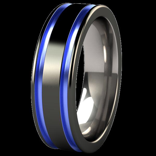 Abyss Black Titanium Ring Black Titanium Ring Titanium Rings For Men Black Rings