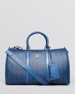 e19ccf5f How gorge is this blue weekender bag?! MCM Medium Stark Weekender Bag on  shopstyle.com