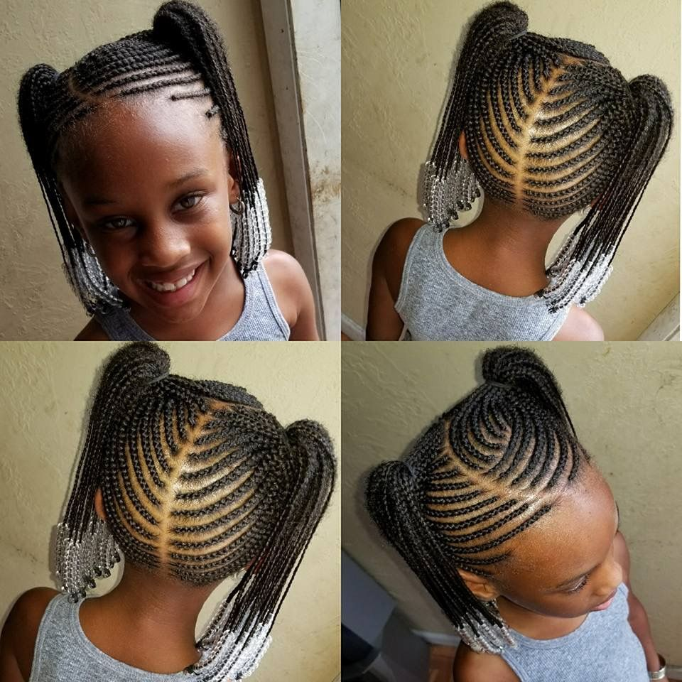 tresses africaines enfants | kid braid styles in 2019 | kids