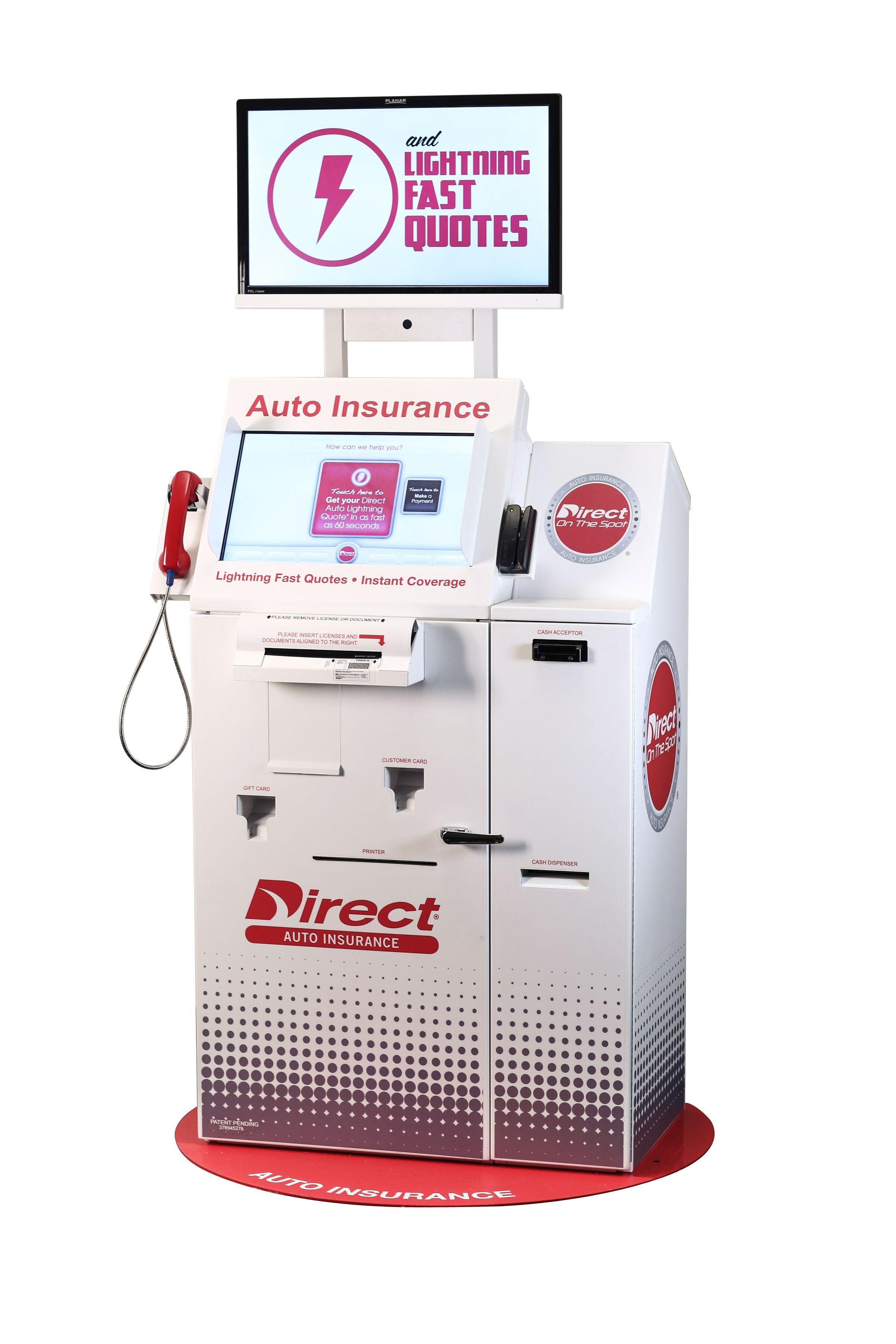 Insurance Kiosk Directauto Dots Clean Ashx 2400 3600 Car Insurance Insurance Auto Insurance Quotes