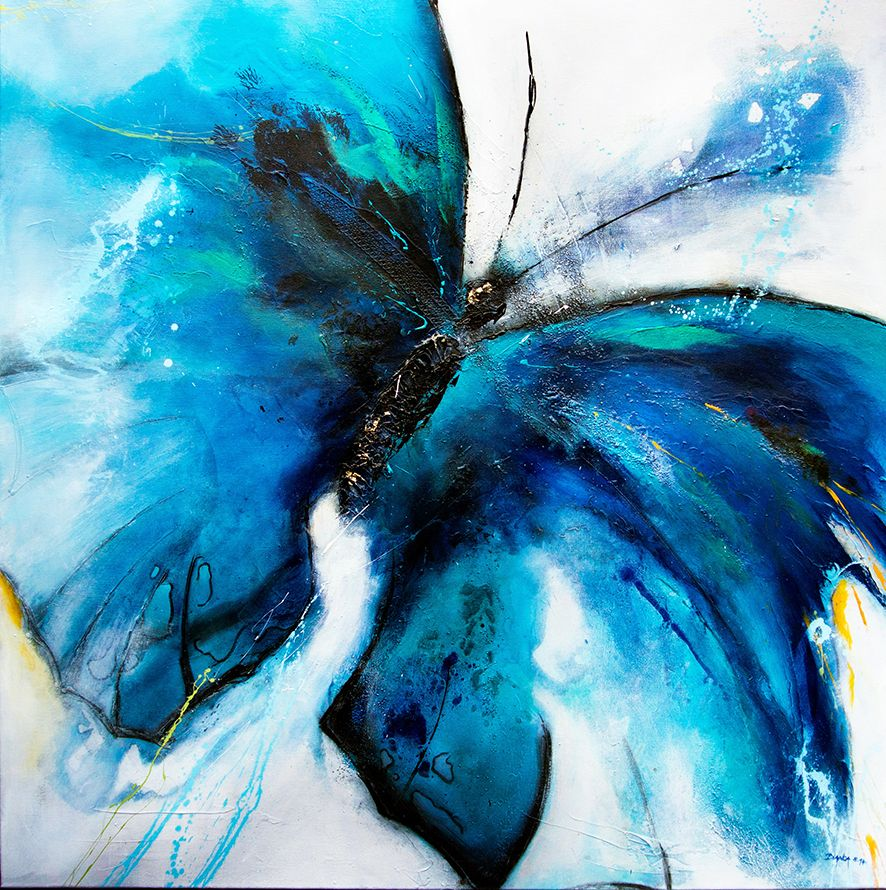 Frei Wie Ein Schmetterling In Der Lufte Zu Schweben Die Welt Von Oben Zu Sehen Einfach Loszuflattern Un Kunst Ideen Kunst Designs Mischtechniken Auf Leinwand
