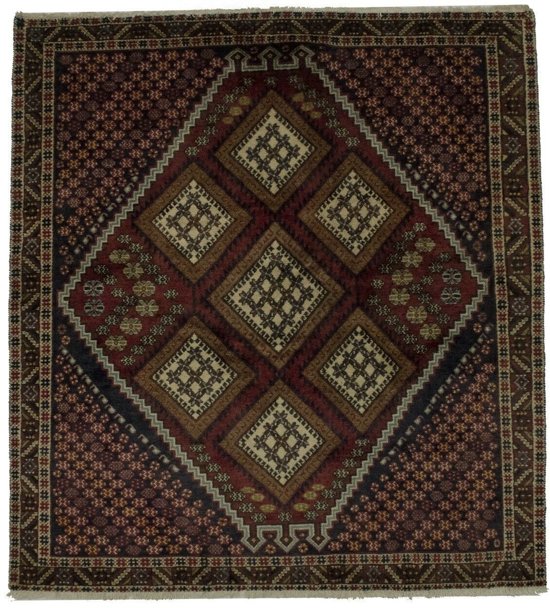 Vintage Tribal Square 6x6 Shahrbabak Hand Knotted Wool Oriental Area Rug Carpet Kitchen Sofa Ideas Of Kitchen Sofa Kitchensofa Ki In 2020 Rugs On Carpet Carpet Pricing Kitchen Sofa