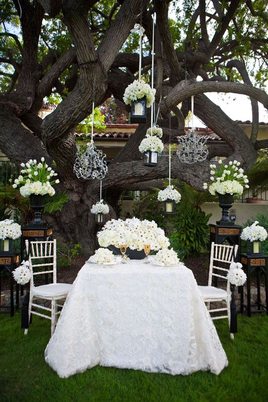 Awesome How Pretty For A Backyard Wedding / San Diego Ceremony Magazine Tabletop  Inspiration: Bauman Photographers