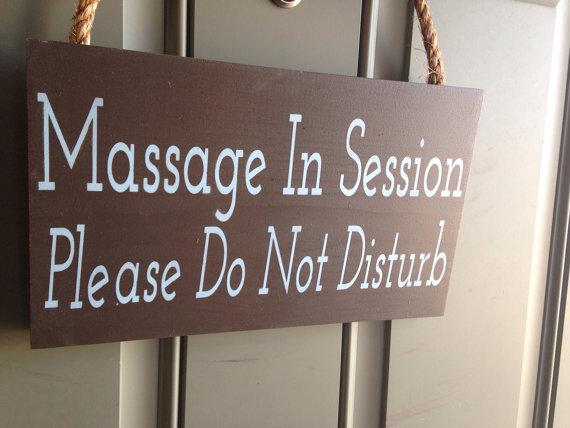 Treatment Room Metal Sign