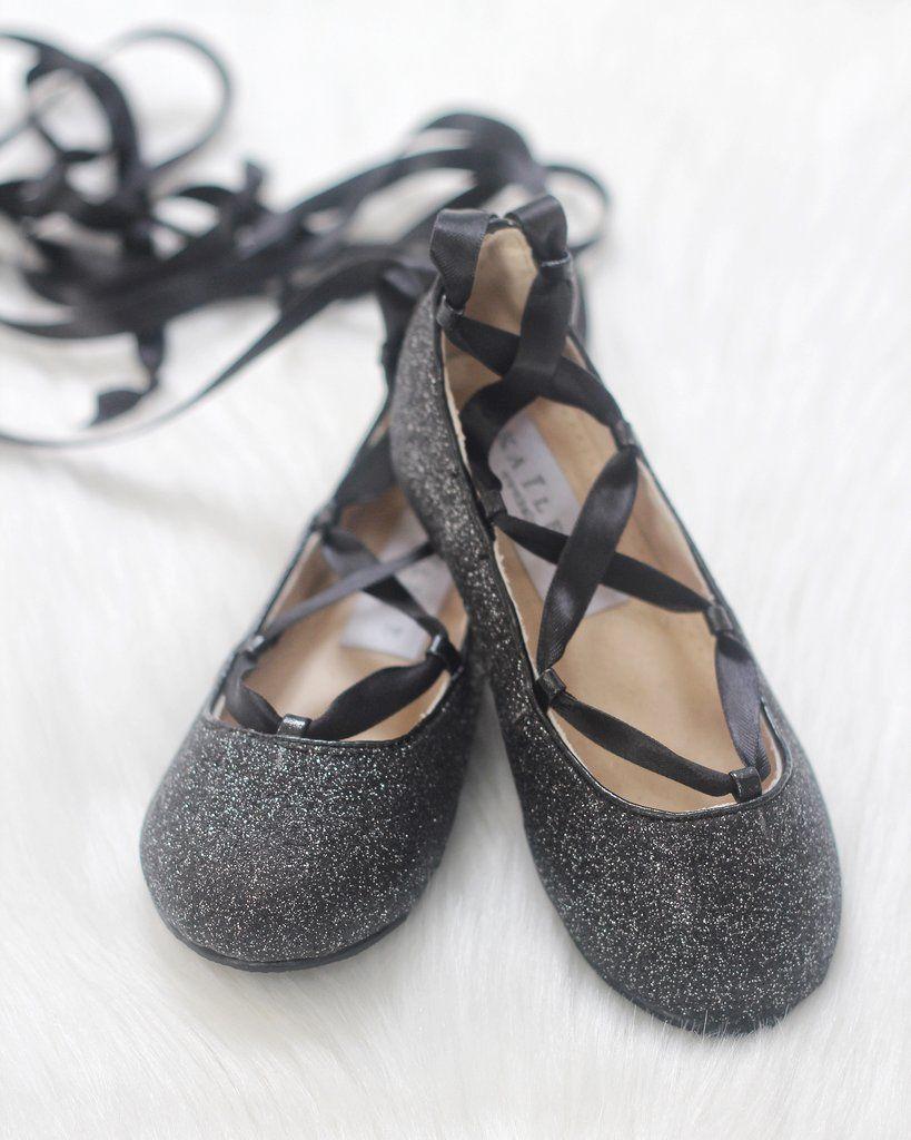 Infant \u0026 Toddler girl shoes - BLACK