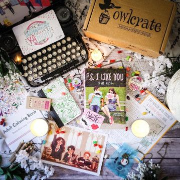 Pin By Jessica Woolridge On Children S Libary Owlcrate Book Subscription Box Book Subscription