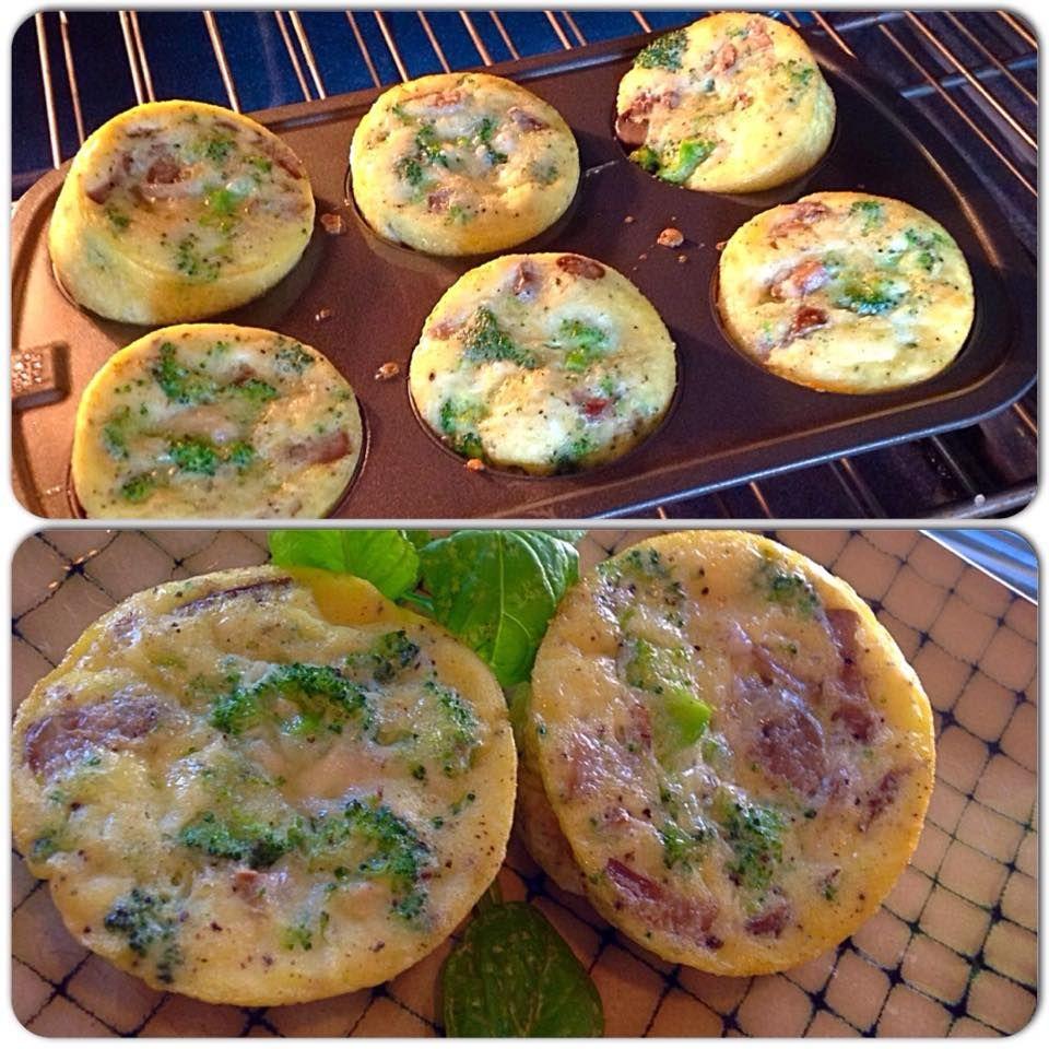 Easy Veggie Omelet Cup