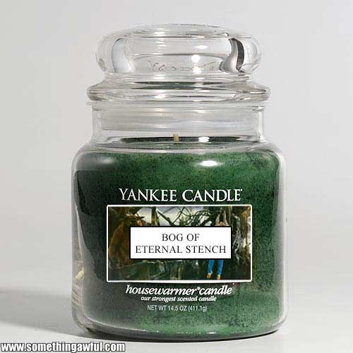 Something Awful Yankee Candles Yankee Candle Weird Candle