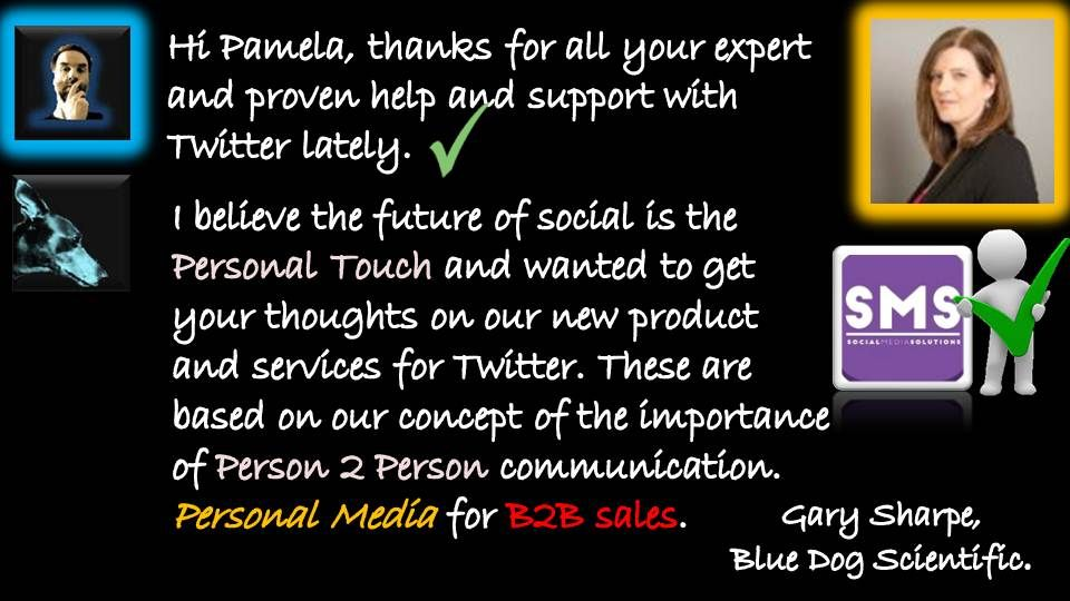 Personal Media allows us to promote targeted clients even in the process of approaching them. || https://www.pinterest.com/bluedogsci/personal-media/ || #marketing #sales #personalmedia