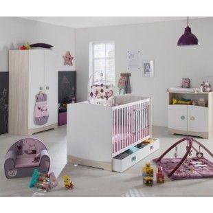 Chambre Am Stram Gram : lit, commode, armoire - bébé 9 création ...