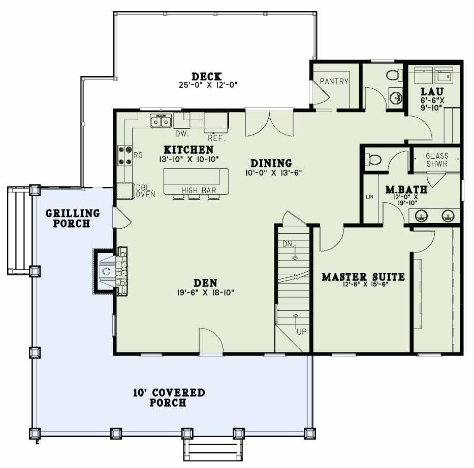 Houseplansplus Com Rustic House Plans One Bedroom House Plans One Bedroom House